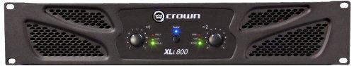 CROWN XLI800 Verstärker, Schwarz