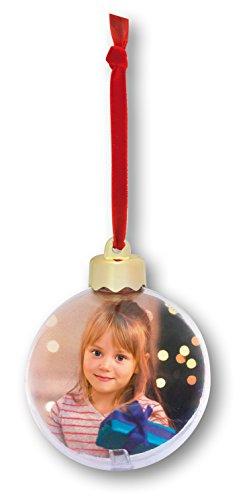Zep S.r.l SF105 Snow Flake - Palla di Natale con Foto
