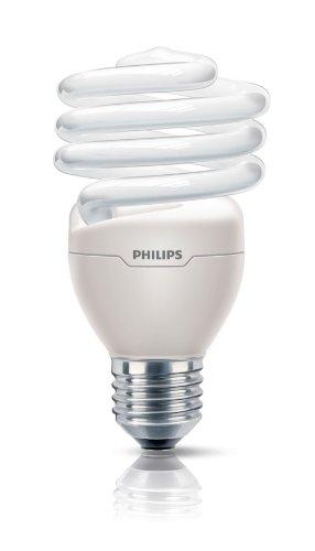 Philips Ampoule FluoCompacte Spirale Culot E27 23 Watts Consommés Équivalence Incandescence : 110W