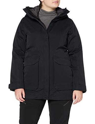 Lafuma Lapland 3In1 Parka W Veste 3 en 1 Femme, Black-Noir, FR (Taille Fabricant : XL)