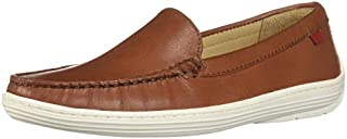 MARC JOSEPH NEW YORK Kids' Leather Boys/Girls Casual Comfort Slip on Moccasin Venetian Loafer Driving Style