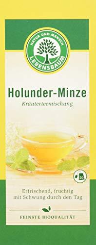 Lebensbaum Holunder Minze, 4er Pack (4 x 30 g) - Bio