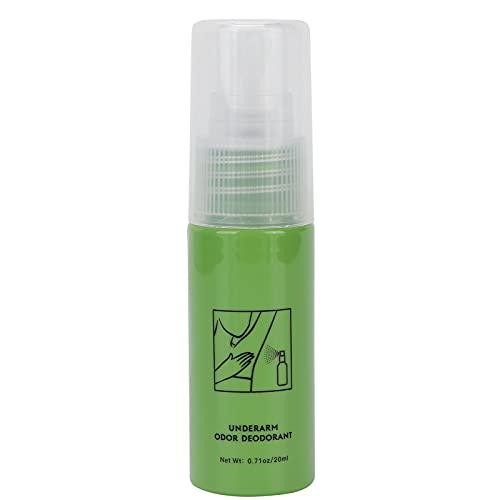 Spray antitranspirante para axilas, desodorante en spray de verano para prevenir la sudoración y el olor del cuerpo y las axilas, 20 ml