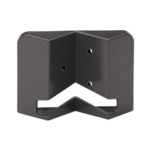 Oktaplex Lighting Eckwandhalter anthrazit  geeignet für Cali/Cali Motion Eckmontage   Innenecke und Außenecke möglich