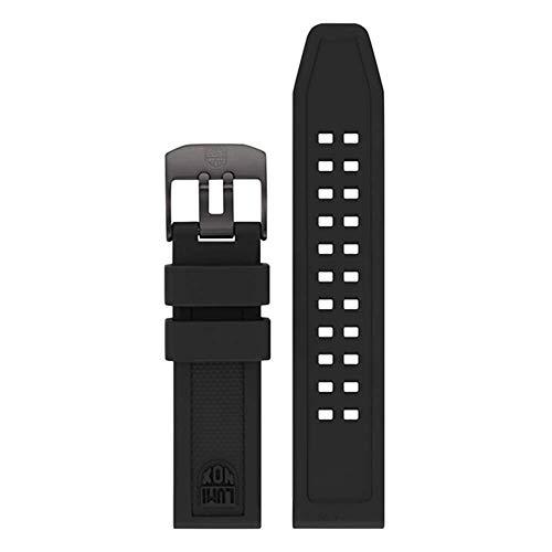 Luminox Herren 7050 Navy Seal Colormark Series Schwarz PU Uhrenarmband
