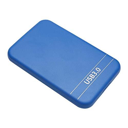 Qianqian56 - Caja para disco duro externo (2,5 pulgadas, SATA a USB 3.0)