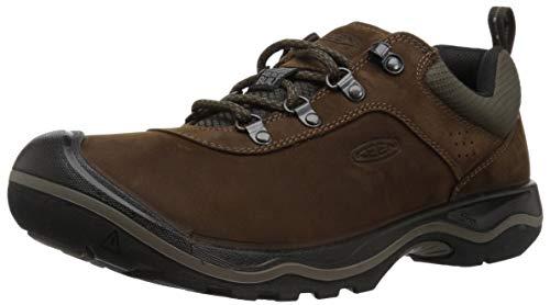 KEEN - Men's Rialto Lace Everyday Walking Shoe, Dark Earth, 11.5 M US