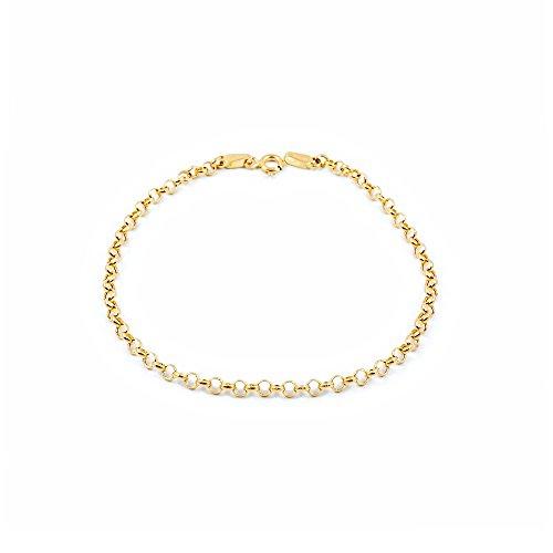 Armband Rolo geel goud 18 karats (750)