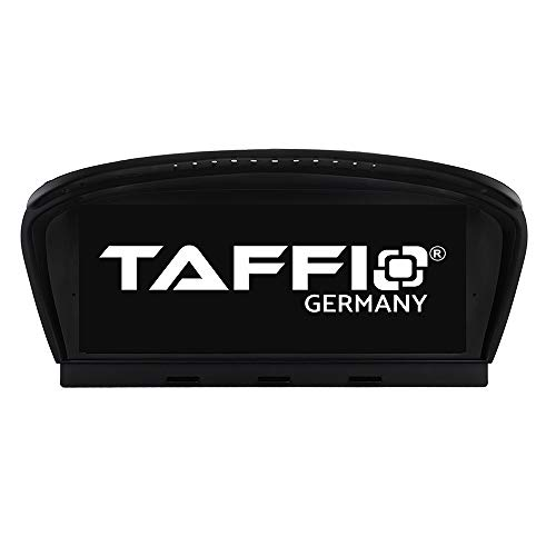 TAFFIO® Android 9.0 Anti Glare Touchscreen GPS Navigation SD USB Multimedia Media Player für BMW E65 E66 * 8.8