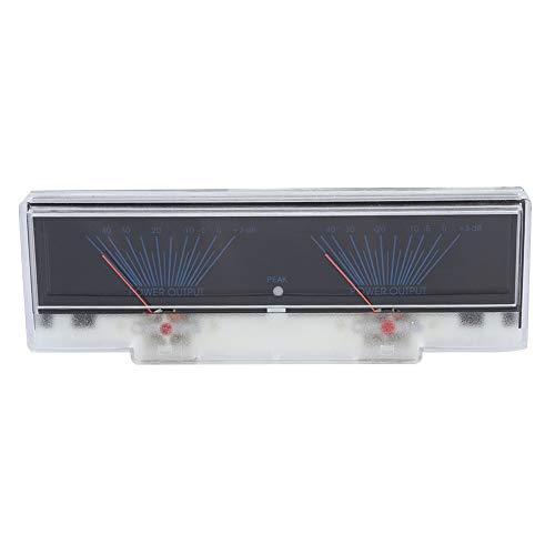 ASHATA Amplifier DB Meter Preamplificador Amplificador Medidor de nivel con luz de...