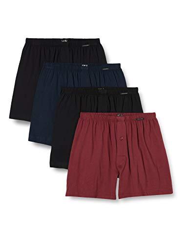 Schiesser Herren Multipack Jersey Boxershorts, Sortiert dunkel, 3XL