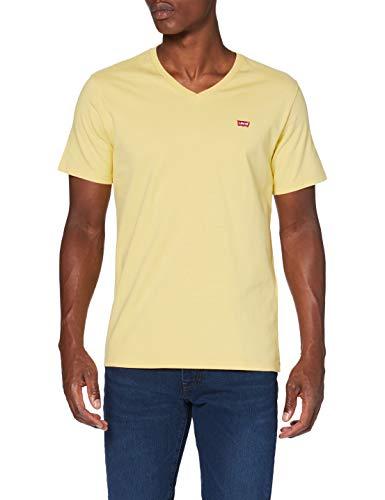 Levi's Herren Orig HM Vneck T-Shirt, Dusky Citron, Large