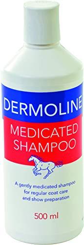 Dermoline Unisex medische shampoo, wit, 500 ml