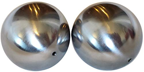3 inch HOLLOW STEEL BALL with m5 threaded hole weldable 80mm (2)