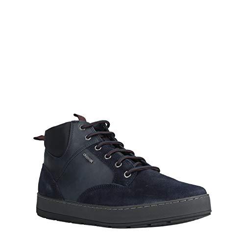 Geox Herren U ARIAM F Klassische Stiefel, Blau (Navy C4002), 42 EU