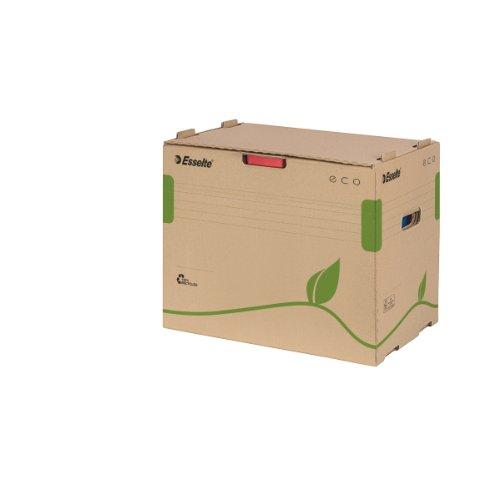 Esselte Eco 623920 - Caja para guardar archivadores, color marrón