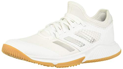 Adidas Court Team Bounce W, Zapatillas Deportivas Mujer, FTWR White/Silver Met./FTWR White,...