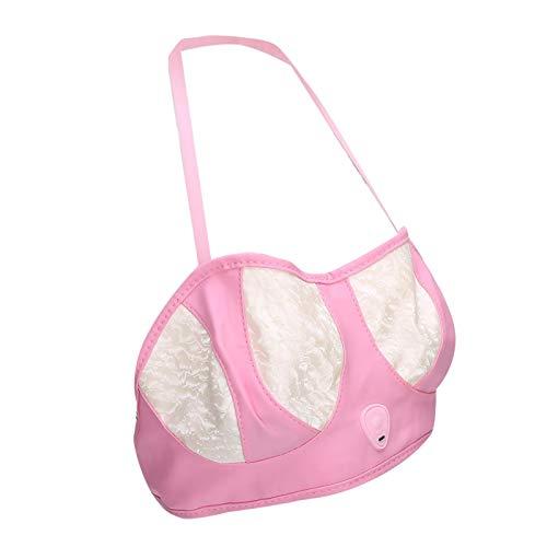 Sujetador de masaje de senos conveniente Masajeador de senos eléctrico suave para belleza para mujeres(One-click)
