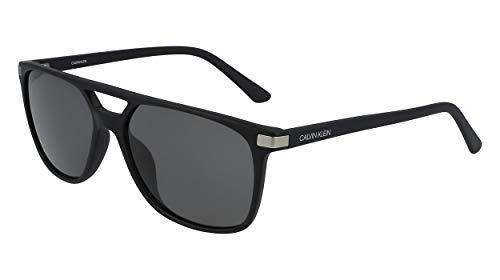 Calvin Klein EYEWEAR Mens CK19526S Sunglasses, Schwarz, M / 5816