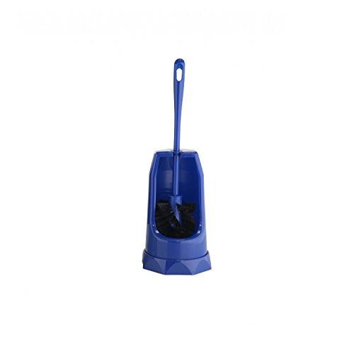 WC-Garnitur, blau Toilettenbürste Klobürste WC-Bürste