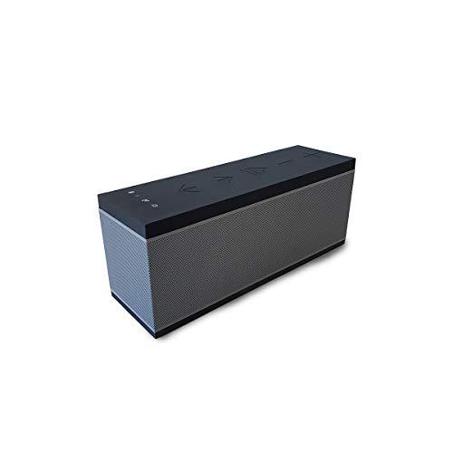 Altavoz portátil WiFi y Bluetooth BSL-miniPRO | Compatible con Manos Libres | para Gran Variedad de Dispositivos móviles | micrófono Integrado| batería con alimentación por Mini USB | Puerto USB