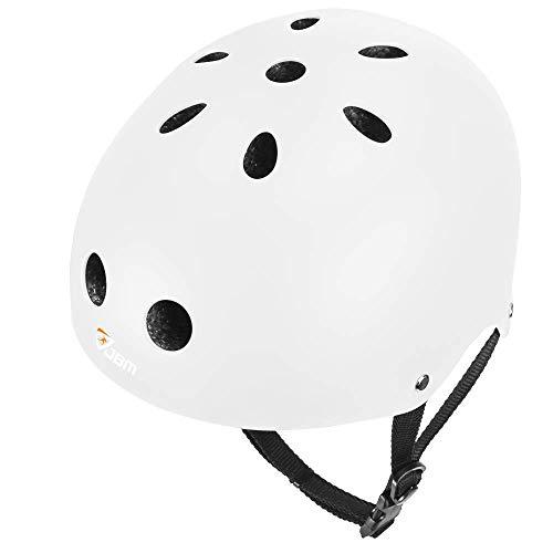 JBM - Helme für Skateboarding in Weiß, Größe L