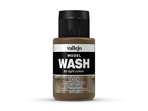 Vallejo Model Wash 76514 Dark Brown Wash (35ml)