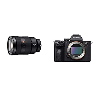 Sony SEL2470GM.SYX FE 24-70 mm F2,8 GM - Objetivo para Sony Negro + Alpha ILCE7M3 - Cámara de 24.2 MP (10 fps, 5 Ejes, AF de 0.05 s, con Montura E, 425 Puntos de Enfoque) Negro (B07NLTXWZT) | Amazon price tracker / tracking, Amazon price history charts, Amazon price watches, Amazon price drop alerts