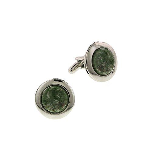 1928 Jewelry - Boutons de Manchette - Métal - Jade - 65546