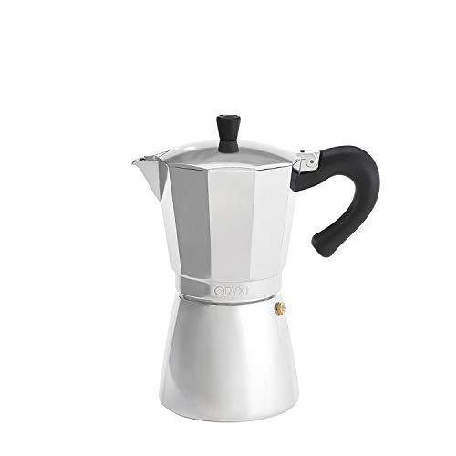 Cafetera Inducción Aluminio 9 Tazas (450 Ml.)