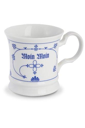 CUP+MUG Teebecher Indisch blau Moin-Moin