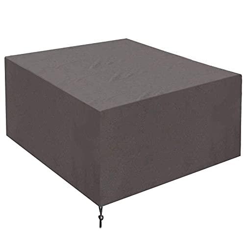 TCWDX Fundas para Muebles de jardín, Impermeable, para Exteriores, para Mesa y Silla, Tela Oxford Anti-Nieve a Prueba de Viento, para Mesa de Comedor, Mesa de Centro, Caja de Almacenamiento, cubie