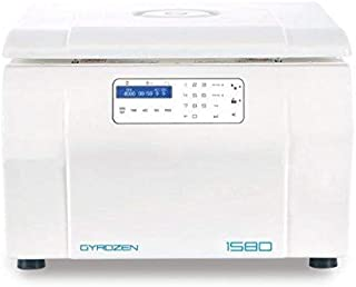 Gyrozen Multi-Purpose Centrifuge Model 1580. Max Speed 15,000rpm. Max Capacity 4x750ml Include: Swing Rotor, Buckets, 15ml & 50 ml conical Adapter (110V, 50/60Hz)