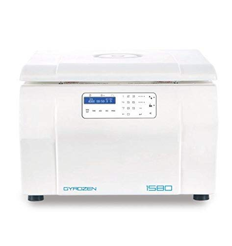 Max Speed 13,500rpm 12,300g. Includes Fixed Angle Rotor 12 x 1.5//2.0 and 0.2 ml adaptors White 110V, 50//60Hz Gyrozen Micro centrifuge air-Cooling