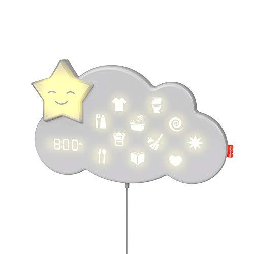 Fisher-Price Nube Lumalou Cuida Tu Rutina, ayudante sueño y rutina de dormir para bebés (Mattel GWM53)