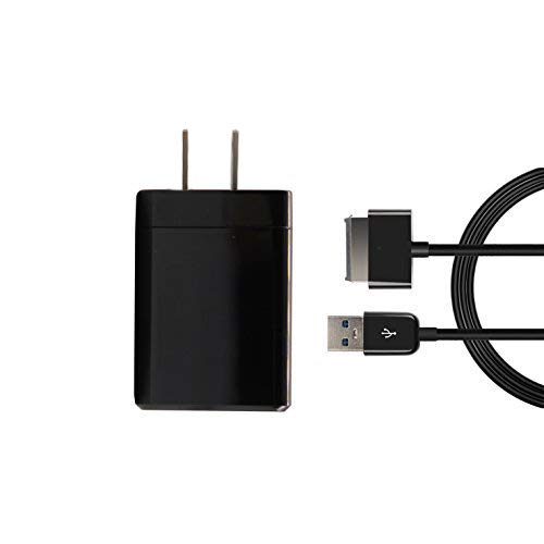 AC Wall Plug Charger+USB Data Sync Cable Cord for ASUS Transformer Pad TF300T