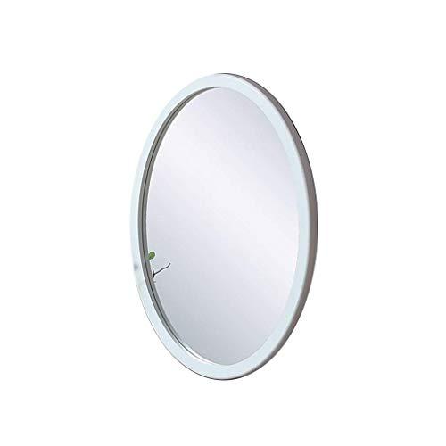 ShiSyan Espejo de maquillaje cosmético del espejo llevado montado en la pared de baño telescópica plegable pared echada a un lado de doble cara espejo de la belleza de 8 pulgadas triple de aumento Esp
