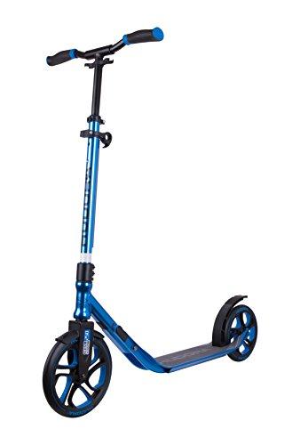 HUDORA Scooter Roller CLVR 250, Tret-Roller, Kickboard, Klapproller, blau, 14834