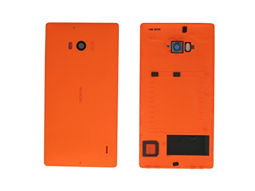 Nokia Lumia 930 Copribatteria Originale Arancione Battery Cover Copribatteria Cover Posteriore Copri Batteria Batterie Patta posteriore copertura backdoor Lid Rear Housing