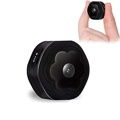CHENPENG Mini cámara espía HD 1080P, Micro cámara Oculta WiFi, con detección de Movimiento, cámara de acción con cámara de visión Nocturna para el hogar y la Oficina