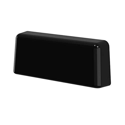 B-H Wasserschlitzkappen Standard Schwarz RAL 9005 für Schlitzfräsungen von 20-34 x 5mm, 25 Stük