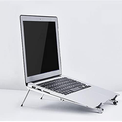 Midddslili Soporte para portátil, Soporte portátil Ajustable, Soporte de Escritorio de aleación de Aluminio, Compatible con Tablet PC-PC-Notebook de 10-15.6 Pulgadas