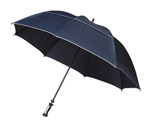 Impliva Falcone Regenschirm, 140 cm, Blau