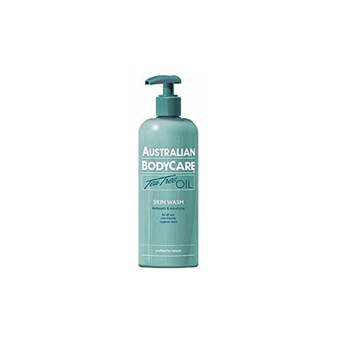 ありがたいインスタンス枯渇オーストラリアのボディケアスキンウォッシュ(500ミリリットル) x2 - Australian Bodycare Skin Wash (500ml) (Pack of 2) [並行輸入品]