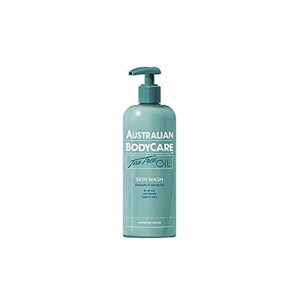 反動単調なみすぼらしいAustralian Bodycare Skin Wash (500ml) (Pack of 6) - オーストラリアのボディケアスキンウォッシュ(500ミリリットル) x6 [並行輸入品]