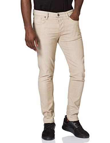 G-STAR RAW Mens 3301 Slim Coj Jeans, Khaki 9860-367, 34W / 32L