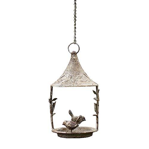 Boji - Papagayo para pájaros, diseño retro envejecido, hecho a mano