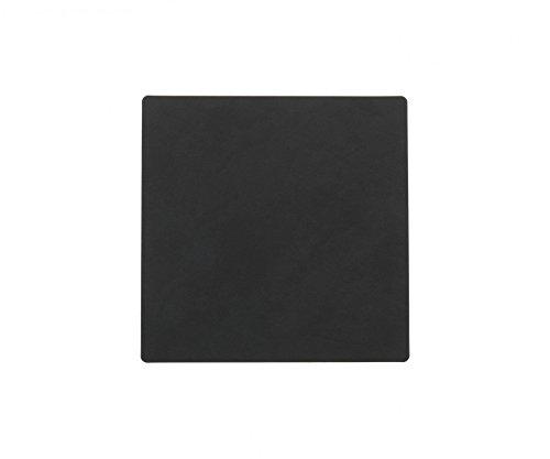 Lind DNA Glasuntersetzer eckig 10x10 cm Nupo schwarz 981801