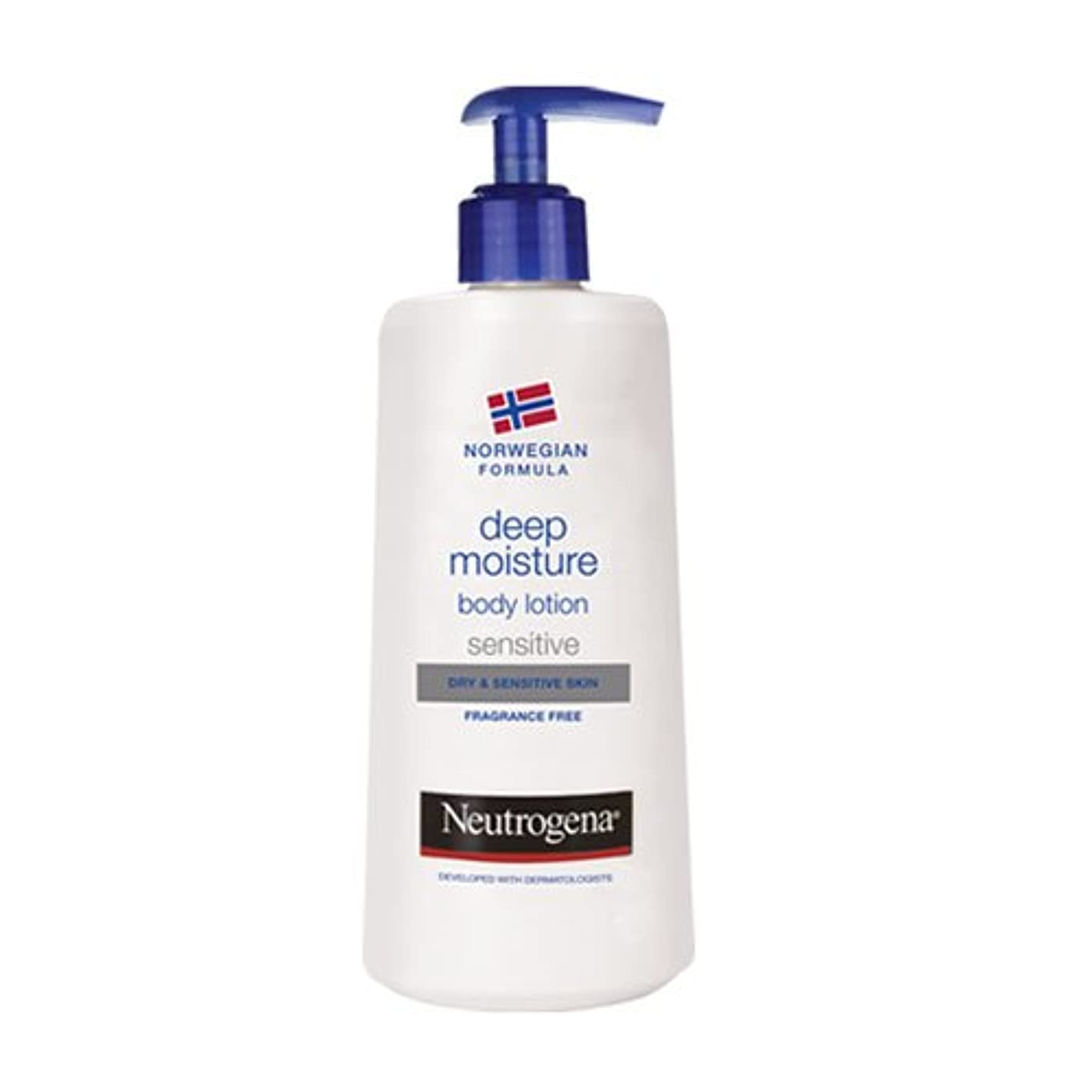 刻む最後の櫛Neutrogena Body Lotion Sensitive Skin 750ml [並行輸入品]
