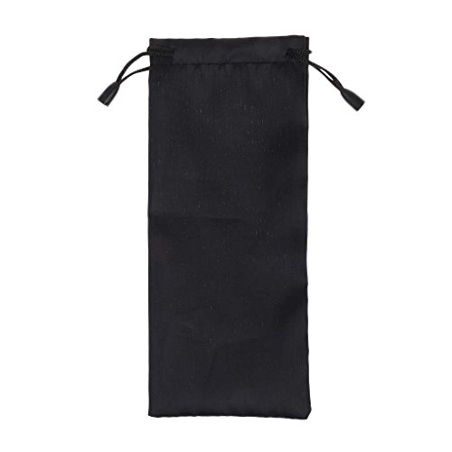 MagiDeal 1Pcs Black Nylon Storage Bag for Tent Stake Awning Peg